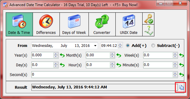 Calculate Years Between Dates