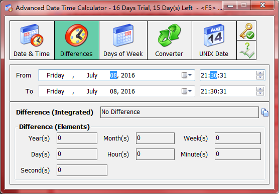 Datetime Calculator