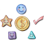 5 Icons Income Logo