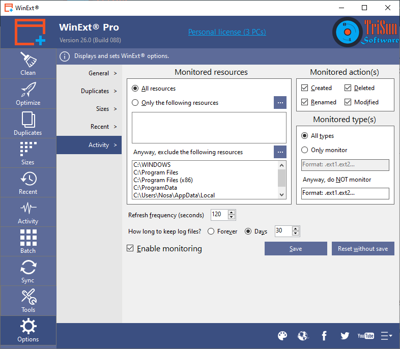 WinExt - A FREE Utilities Kit for Windows 10/8 1/8/7/XP